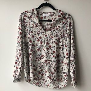 Oak and Fort Floral Shirt in OS